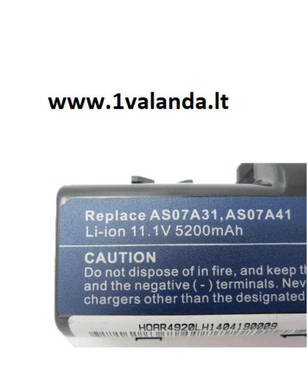 TPC baterija  Acer Aspire 4710 4920 4935 4930G 4930 Series
