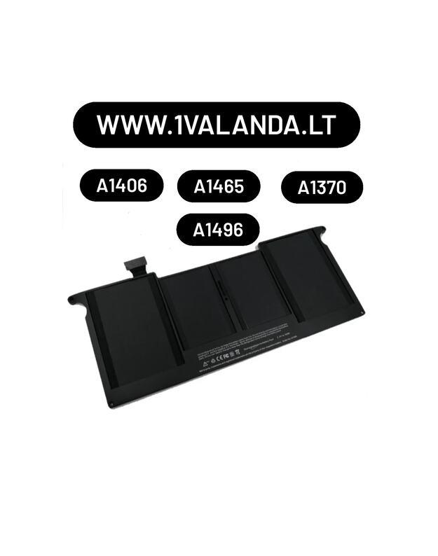 TPC baterija Apple MacBook Air 11'' A1406 A1495A1465 A1370 kompiuteriui