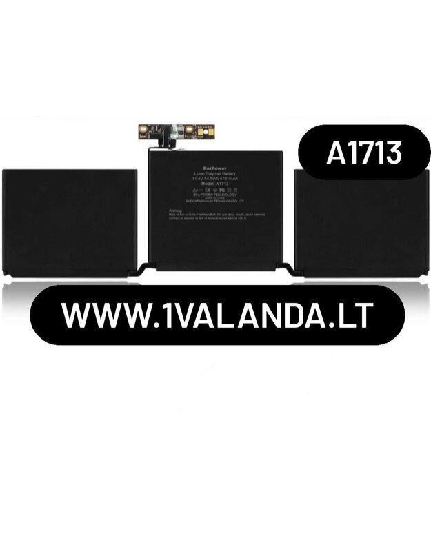 TPC baterija Apple MacBook Pro A1713 A1708 kompiuteriui