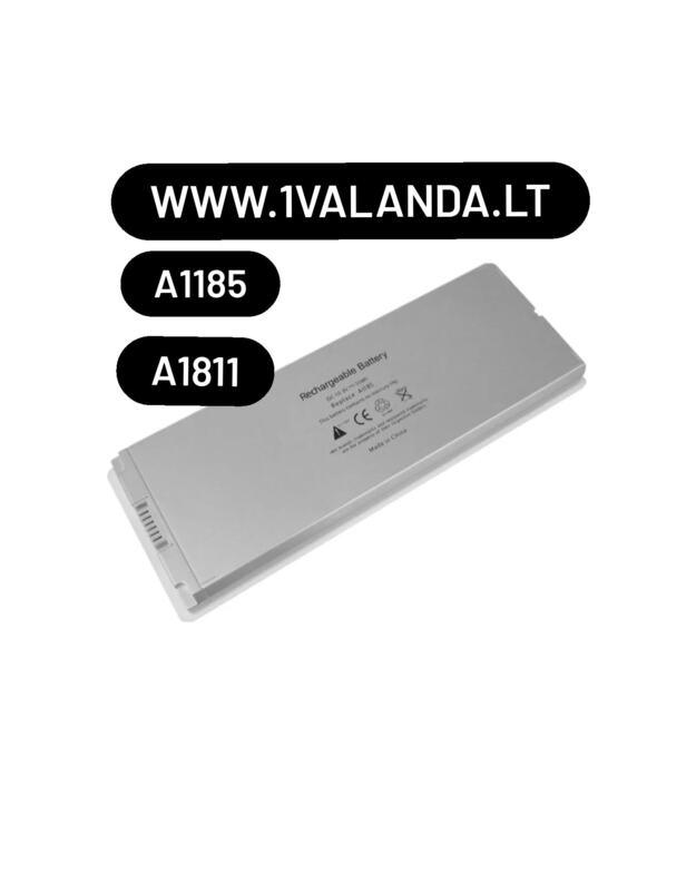 TPC baterija Apple MacBook A1185 A1181 kompiuteriui