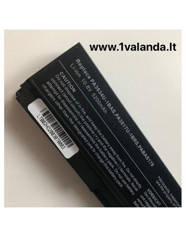 TPC baterija kompiuteriui TOSHIBA PA3634 5200MAH